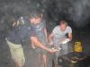 Grillen nach dem letzten Inlinehockey Training 2008