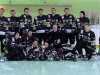 Die Phantoms mit der Trophäe für den 2.Platz in der Playoff Gruppe G! 12.4.2008