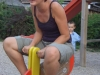 Martina beim Trockentraining