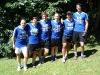 Das grandiose Team: Udo - Tanja - Niki - Posti - Steve - Bernhard